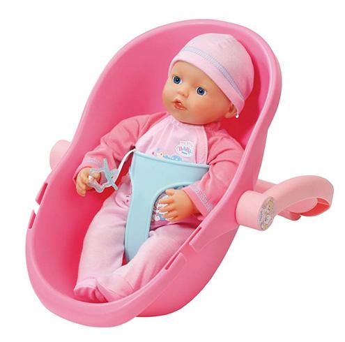 822-494 Бэби Борн my little BABY born Кукла и кресло-переноска