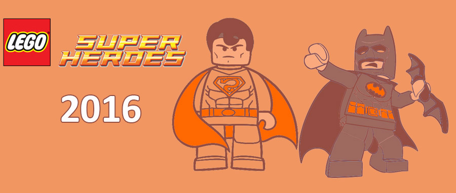 Lego Super Heroes 2016