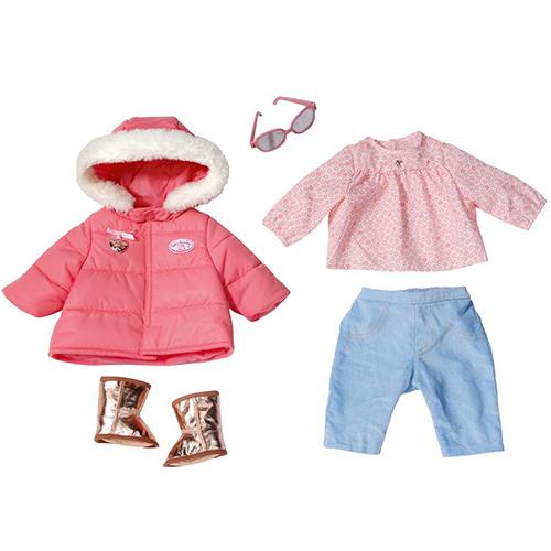 Baby Annabell 793-961 Бэби Аннабель Одежда зимняя с сапожками