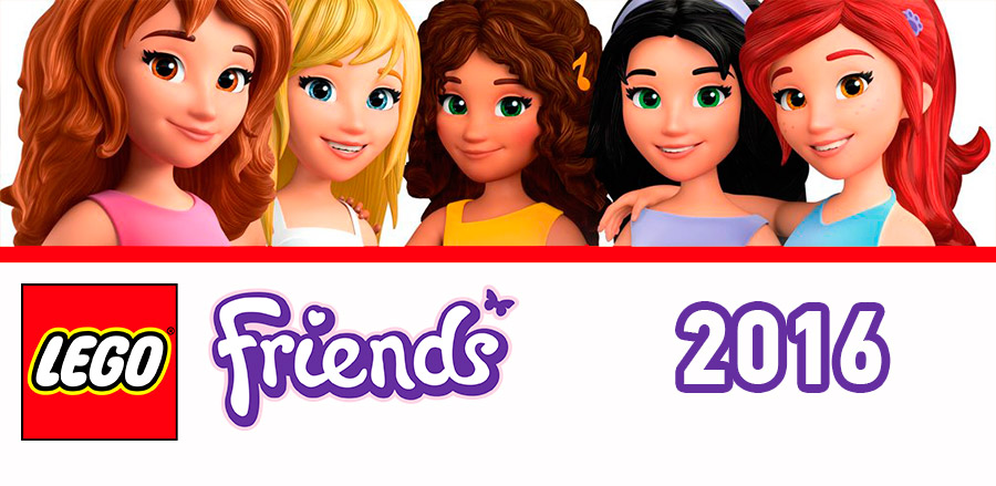 новинки Lego Friends 2016