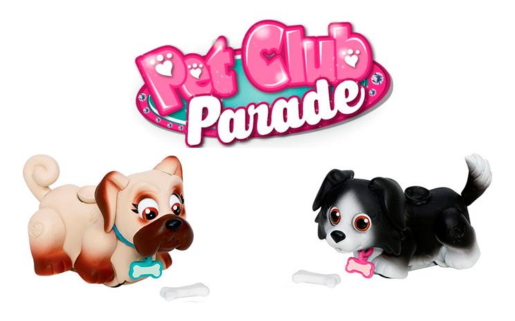 Игрушки собачки Pet Club Parade
