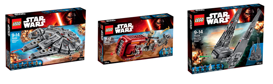Конструкторы Лего Звездные Войны