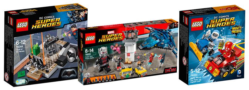 Конструкторы Lego Super Heroes 2016