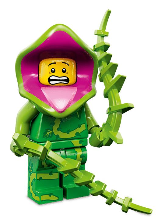 Лего серия 14 минифигурка Растение-Монстр