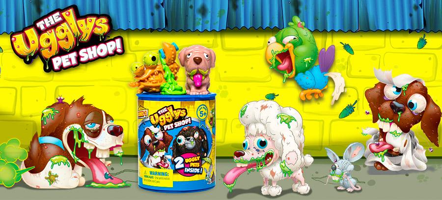Ugglys Pet Shop Хулиганские животные Аглис Пет Шоп