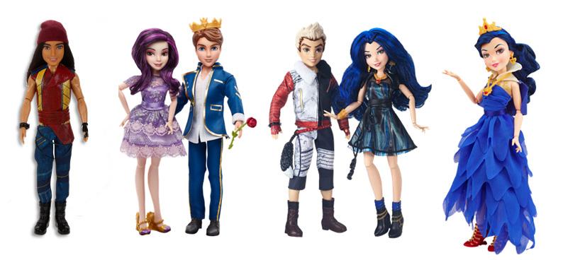 Куклы Наследники Descendants Disney