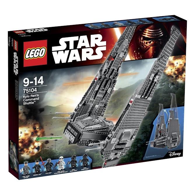Лего Звездные Войны 75104 Командный шаттл Кайло Рена