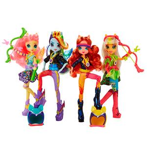 My Little Pony B1771 Май Литл Пони Equestria Girls кукла спорт Вондеркольты