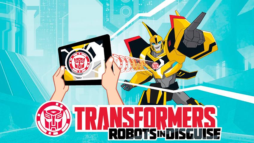 Приложение Игрушки Трансформеры. Роботы под прикрытием