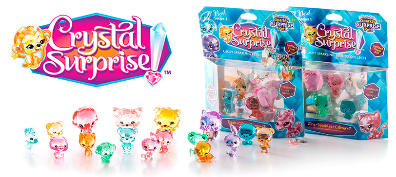 фигурки Crystal Surprise