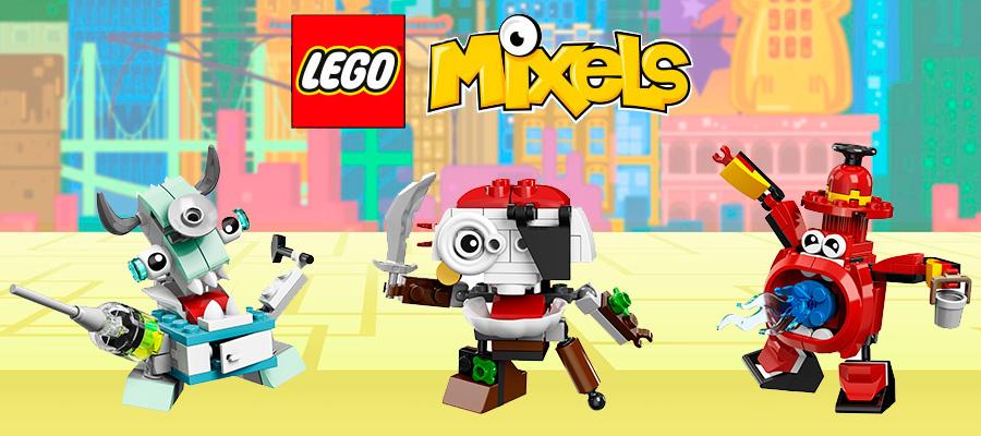 Lego Mixels Лего Миксели новые серии