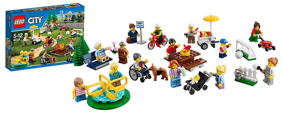 Lego City Лего Город набор фигурок Праздник в Парке