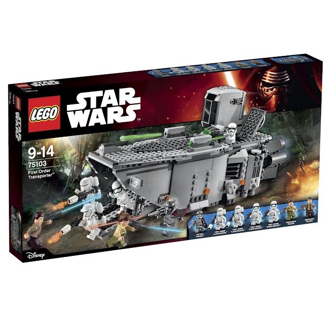 Лего Звездные Войны 75103 Транспорт Первого Ордена