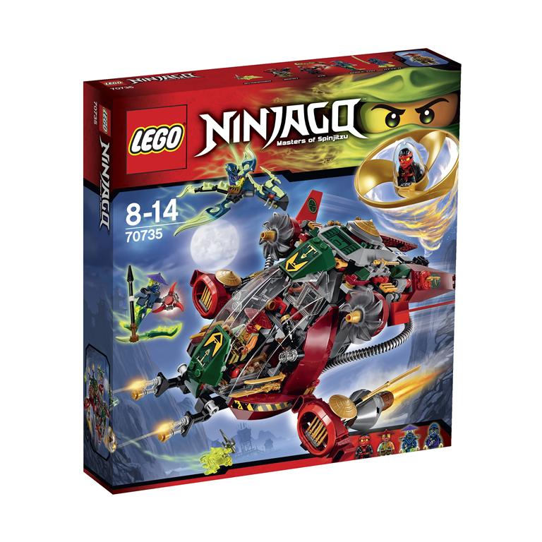 Lego Ninjago 70735 Лего Ниндзяго REX Вертолет Ронина