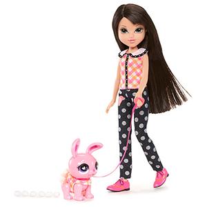 Кукла Moxie 519744 Мокси С питомцем, Лекса + Зайка
