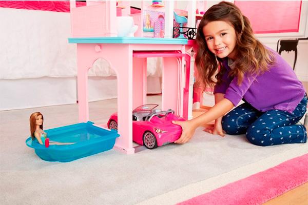 Дом мечты Барби 1 этаж