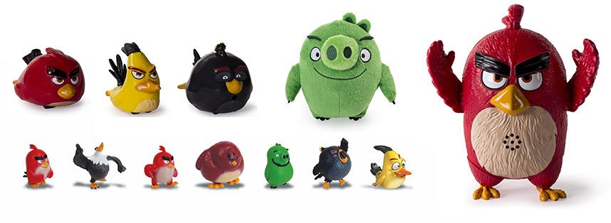 Фигурки Angry Birds Сердитые Птички