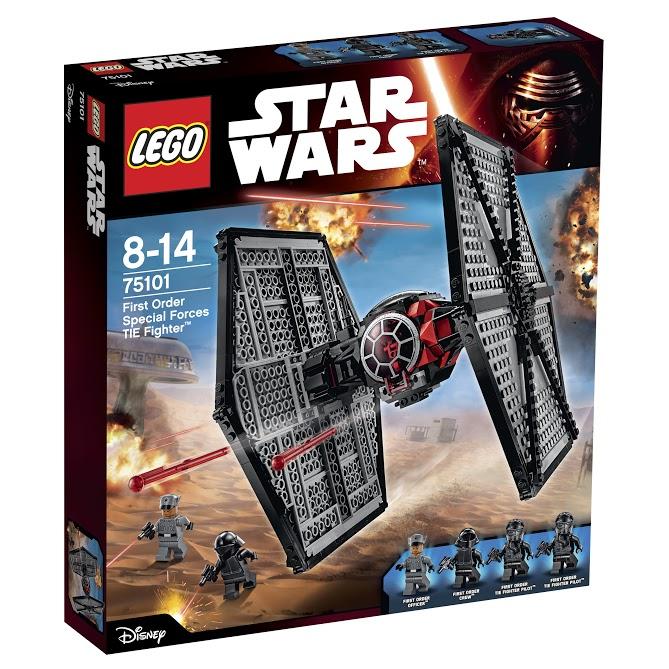 Лего Звездные Войны 75101 Истребитель особых войск Первого Ордена