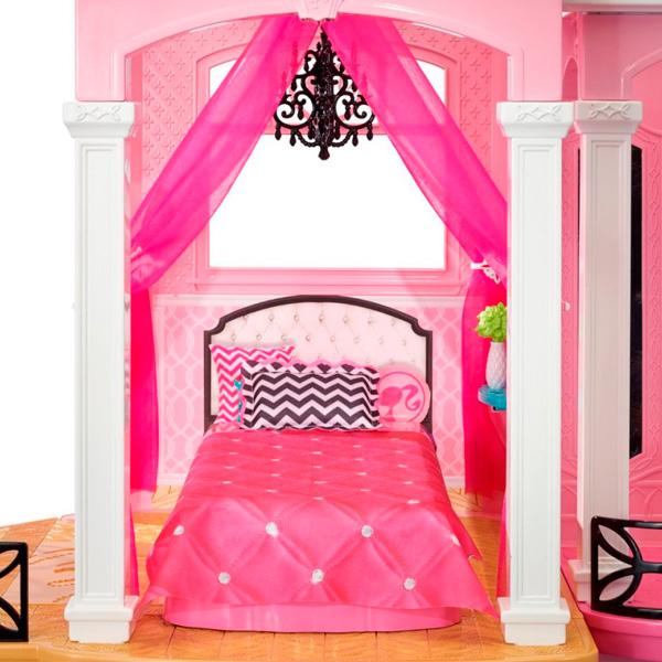 Дом мечты Барби спальня