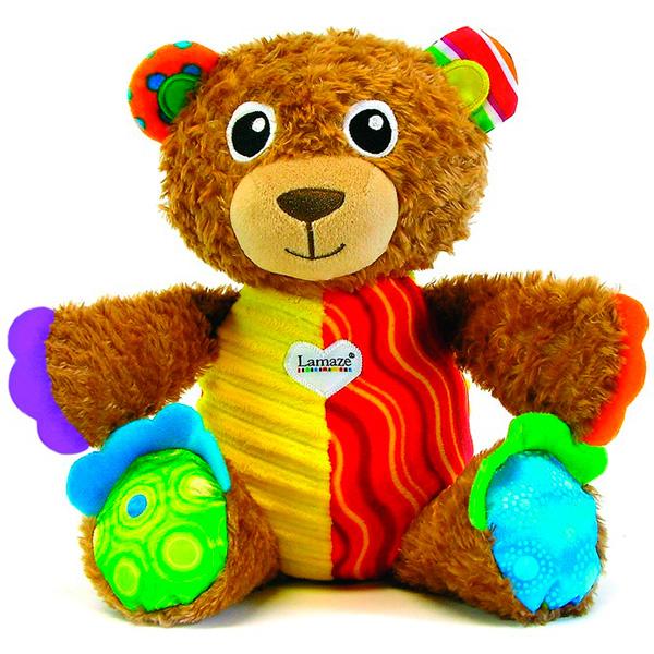 TOMY Lamaze T27160 Томи Ламаз Мой Первый Плюшевый Медвежонок