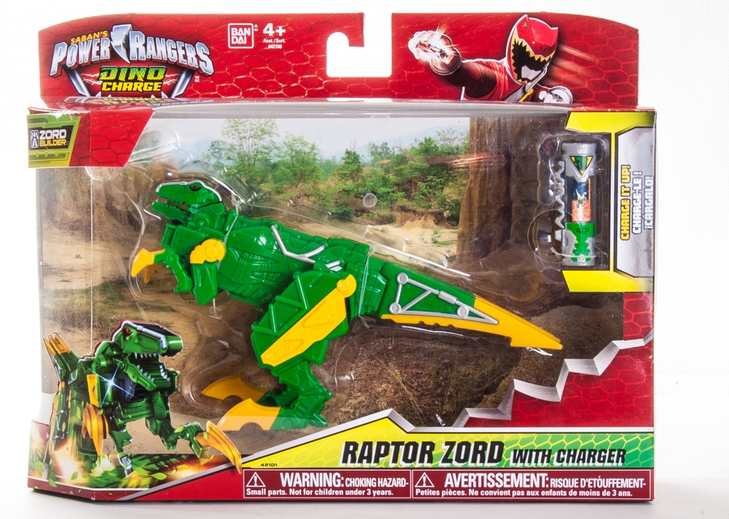 Power Rangers Dino Charge 42100 Пауэр Рейнджерс Дино Зорд DX