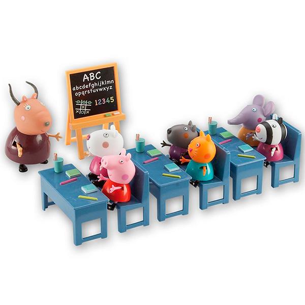 Набор Свинка Пеппа Идем в школу