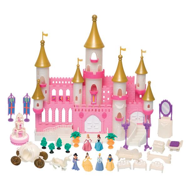 Принцессы 40861 Волшебный замок с золотыми башнями