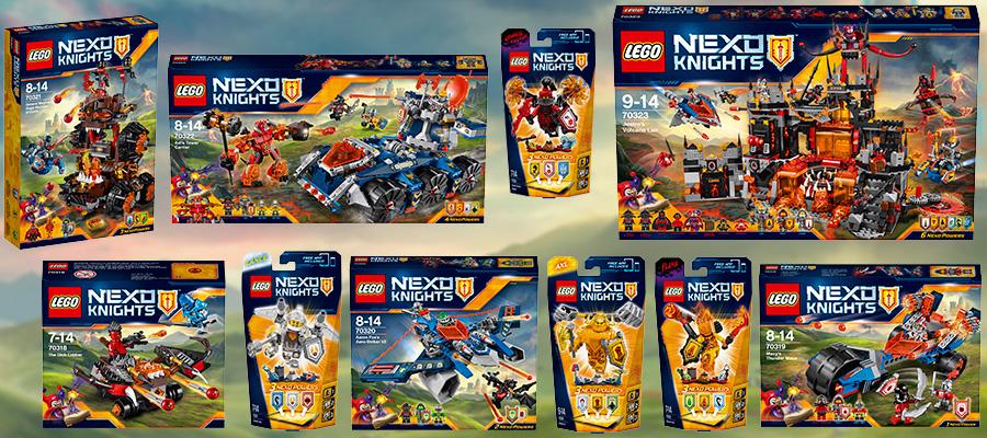 Новинки Lego Nexo Knight Лего Нексо