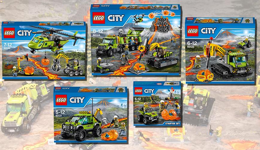 Lego City Лего Город Исследователи Вулканов