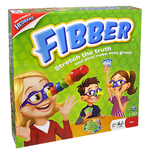 Настольная игра Spin Master Fibber 34545 Спин Мастер Фиббер