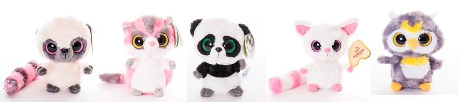 Мягкие игрушки Юху и его друзья