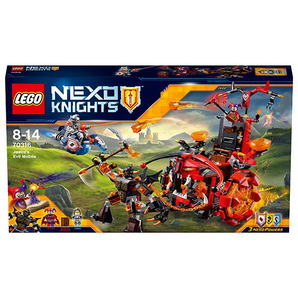 Lego Nexo Knights Лего Нексо Джестро-мобиль
