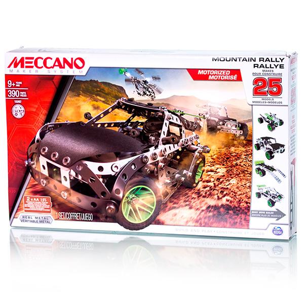 Meccano 91776 Меккано Набор Раллийная машина (25 моделей)