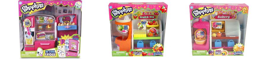 Игровые наборы Shopkins