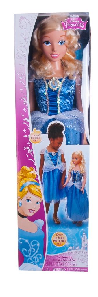 Disney Princess 885340 Кукла Принцессы Дисней, Золушка 99 см
