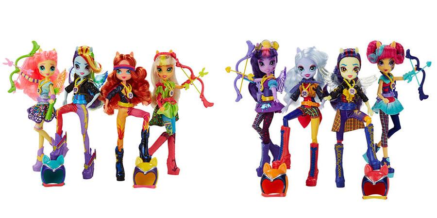 Игрушки Equestria girls My Little Pony