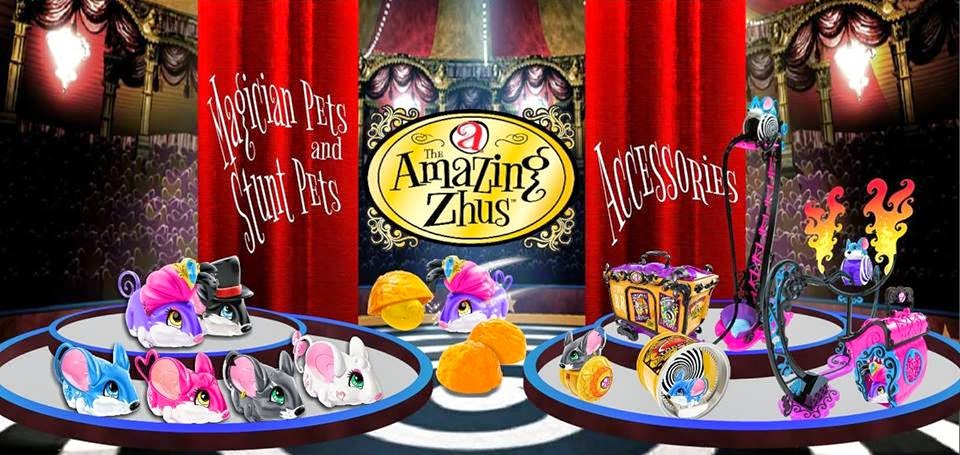Мыши циркачи Amazing Zhus