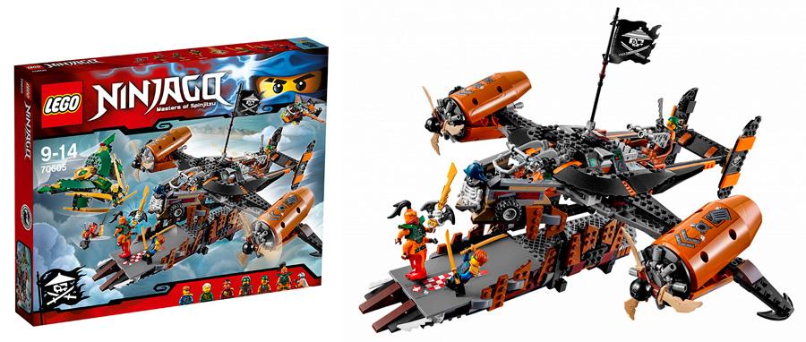 Лего Ниндзяго 70605 Цитадель несчастий Lego Ninjago