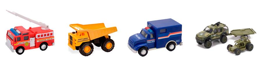 Машины Mighty Wheels Soma