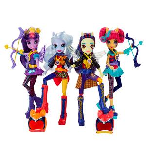 My Little Pony B1772 Май Литл Пони Equestria Girls кукла спорт Темномолнии