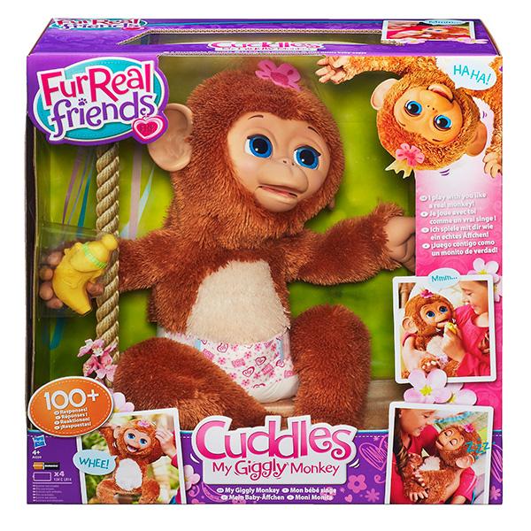 Furreal Friends A1650 Смешливая обезьянка
