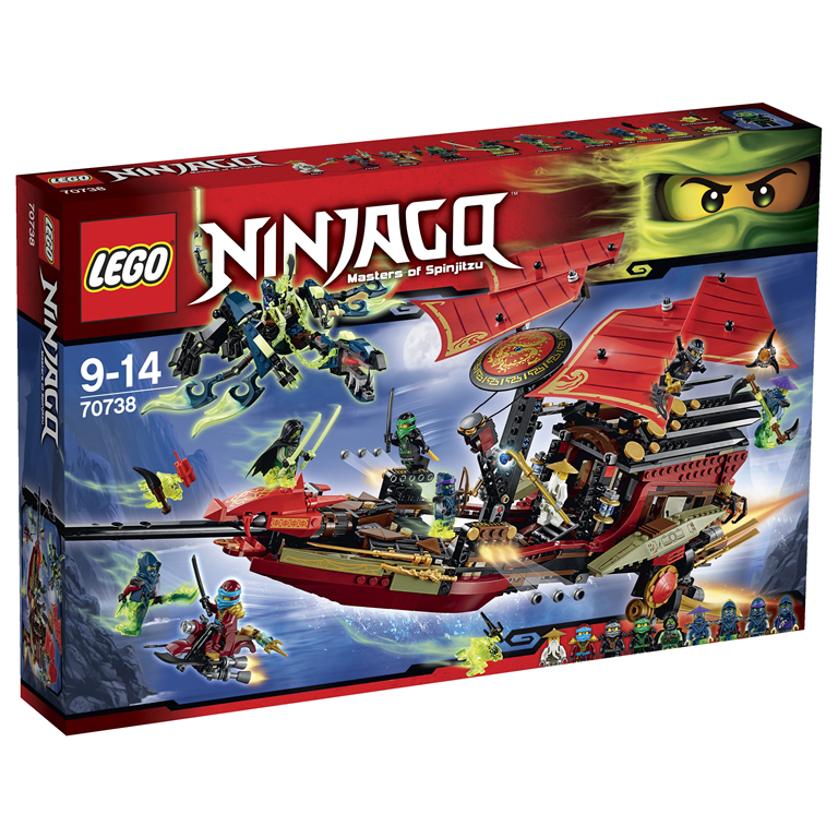 Lego Ninjago 70738 Лего Ниндзяго Корабль Дар Судьбы - Решающая битва