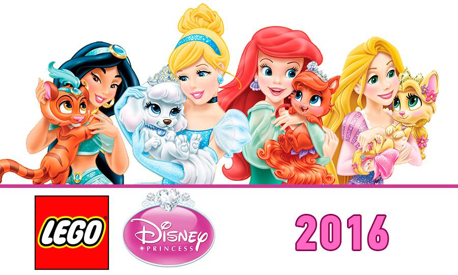 Lego Disney Princesses 2016