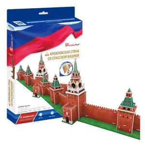 Cubic Fun MC212h Кубик фан Кремлевская стена со Спасской башней