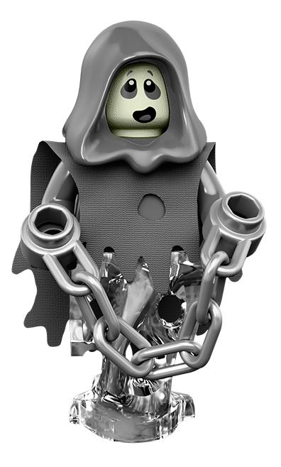 Лего серия 14 минифигурка Фантом