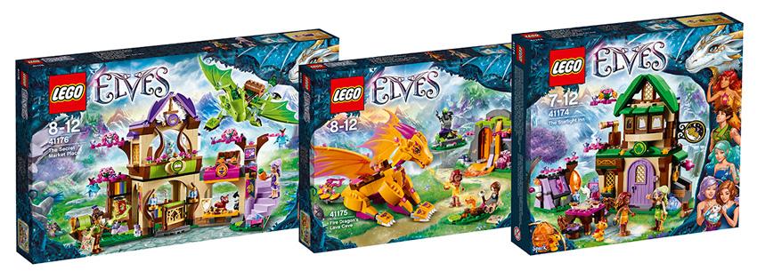 Конструкторы Lego Elves 2016