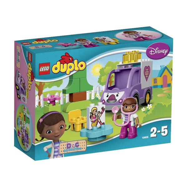 Lego Duplo 10605 Доктор Плюшева: Скорая помощь Рози