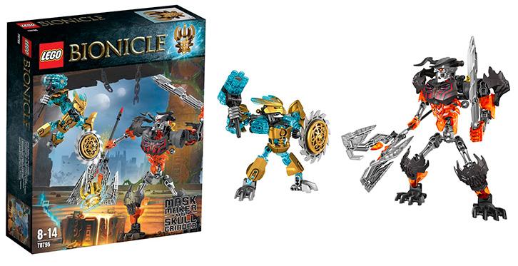 Лего Биониклы Леденящий Череп 70791