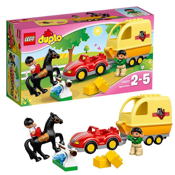 Lego Duplo 10807 Лего Дупло Трейлер для лошадок