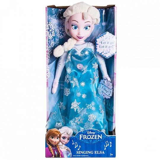 Disney 12960 Функциональная кукла Холодное сердце Принцесса Эльза 35 см